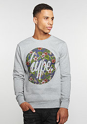 Sweatshirt Flower Circle grey