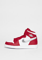 Basketballschuh Air Jordan 1 Retro High BG gym red/metallic silver/white