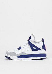 Basketballschuh Air Jordan 4 Retro GG white/hyper orange/deep royal blue