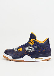 Basketballschuh Air Jordan 4 Retro mid navy/metallic gold/gold