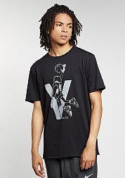 T-Shirt Air Jordan 5 Toggle black/white