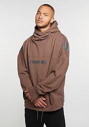 Hooded-Sweatshirt Oversized Hoody rust