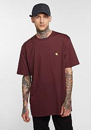 T-Shirt Chase chianti/gold