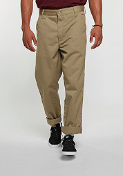Chino Hose Simple leather