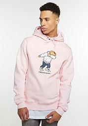 Hooded-Sweatshirt Crew Dabbin pink/mc