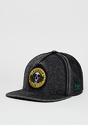 Snapback-Cap GL Budz N Skullz black/gold