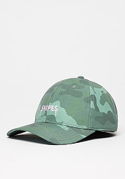 Baseball-Cap Partner In Crime Curved woodland/light pink