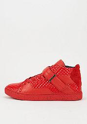 Schuh Sashimi red pyramids/black spreckles