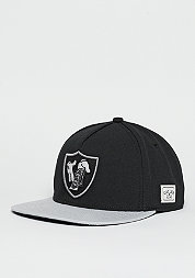Snapback-Cap WL Cap To Blow black/grey