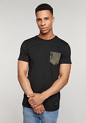 T-Shirt Army Pocket black/multi