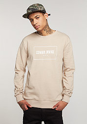 Sweatshirt October nude/white