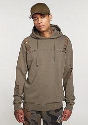 Hooded-Sweatshirt Shoreditch mushroom/brown