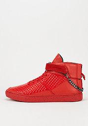 Schoen Hamachi red pyramids/black spreckles