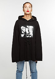 Fenty by Rihanna Hooded-Sweatshirt Graphic Front Lacing black