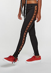Fenty by Rihanna Leggings Lacing Tight Jersey black
