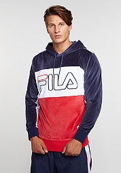 Hooded-Sweatshirt Baggio blue/red
