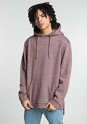 Hooded-Sweatshirt Melange bordeaux/grey