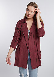 Jacke Velours bordeaux