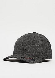 Baseball-Cap Fine Melange black