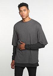 Longsleeve Layering grey/black