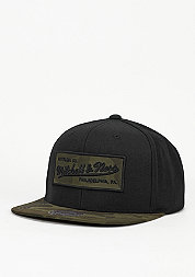 Snapback-Cap Camo Fill black