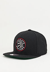 Snapback-Cap Wool Solid NBA Toronto Raptors black
