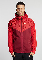 Trainingsjacke Air Hybrid Fleece Windrunner team red/university red