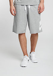 Sport-Short Alumni Solstice dark grey heather/white