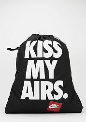 Turnbeutel Heritage Kiss My Airs black/white