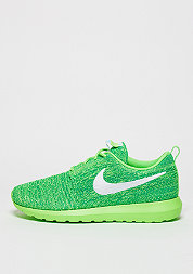 Laufschuh Roshe Flyknit voltage green/white/lcd green