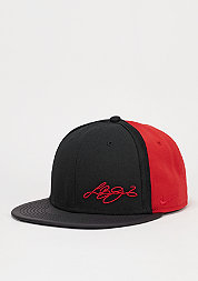 Snapback-Cap S+ LB13 True black/university red/university red
