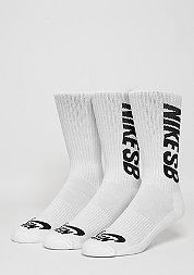 Sportsocke SB Crew white/black