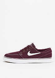 Skateschuh Zoom Stefan Janoski Canvas night maroon/white/metallic gold