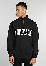 Sweatshirt Campus Half Zip black