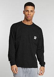 Longsleeve Pocket black