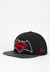 Snapback-Cap Vizaflective 9Fifty Batman vs. Superman black/red