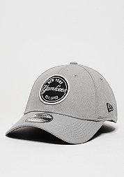Baseball-Cap Emblem Stretch MLB New York Yankees grey/black