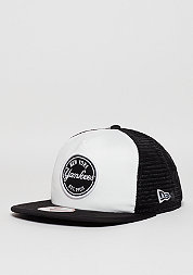 Trucker-Cap 9Fifty Emblem MLB New York Yankees optic white/black