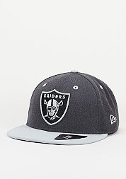 Fitted-Cap Heather Top NFL Oakland Raiders official team colour