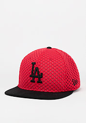 Snapback-Cap Mesh Crown MLB Los Angeles Dodgers scarlet/optic white