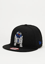 Snapback-Cap Word Character R2D2 9Fifty black