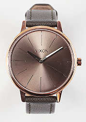 Uhr Kensington Leather rose gold/taupe