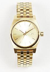 Uhr Medium Time Teller all gold