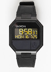 Uhr Re-Run Leather all black