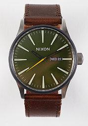 Uhr Sentry Leather surplus/brown