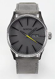 Uhr Sentry Leather charcoal