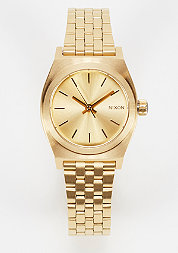 Uhr Small Time Teller all gold