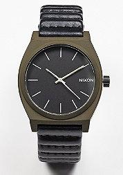 Uhr Time Teller bronze/black