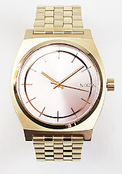 Uhr Time Teller light gold/pink