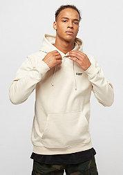 Hooded-Sweatshirt Chest Logo birch/black embroidery